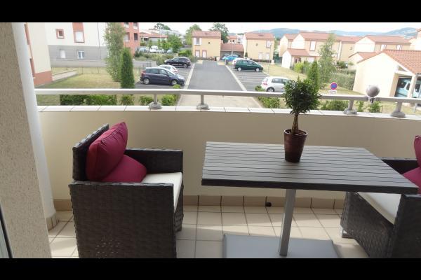 Vue de l'appartement - Appartement proche du centre ville d'Issoire en Auvergne - Location de vacances - Issoire