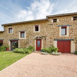 façade proncipale - Chambre d'hôtes - Vernet-la-Varenne