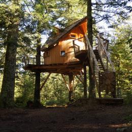 Cabane pour couples et familles - Chambre d'hôtes - La Tour-d'Auvergne