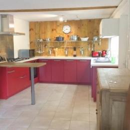 Coin cuisine - Location de vacances - Anzat-le-Luguet