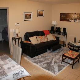 espace salon - Location de vacances - Billom