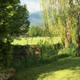 Jardin - Chambre d'hôtes - Dore-l'Église