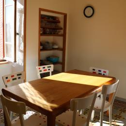 Coin cuisine - Location de vacances - Charbonnières-les-Vieilles
