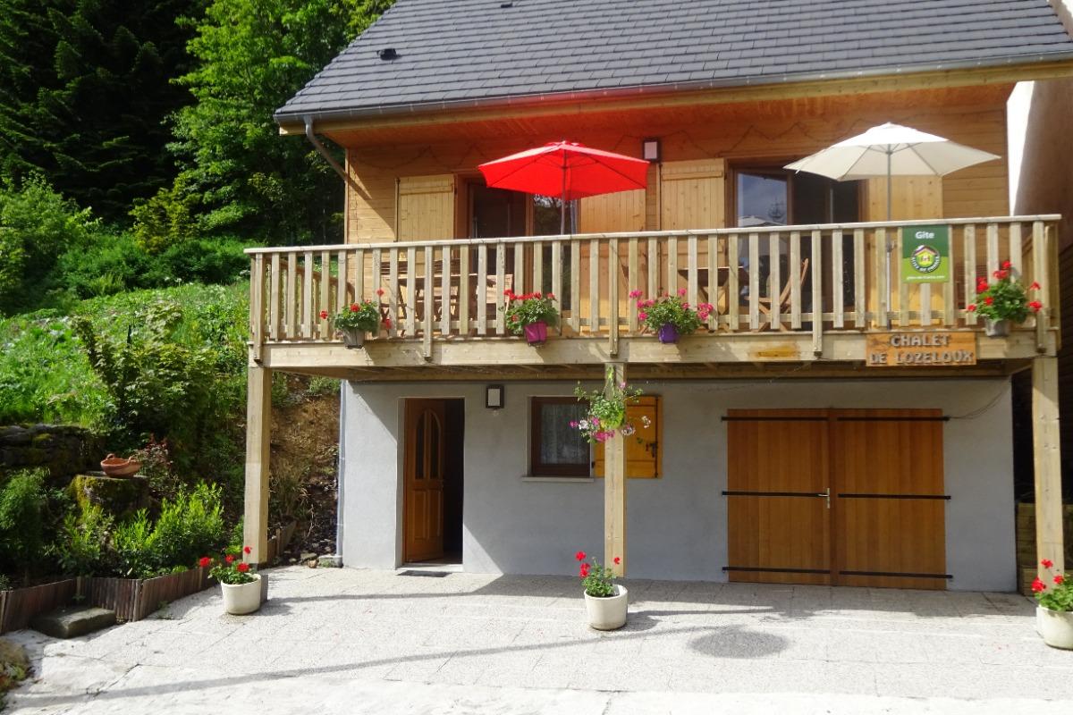 facade  - Location de vacances - Mont-Dore