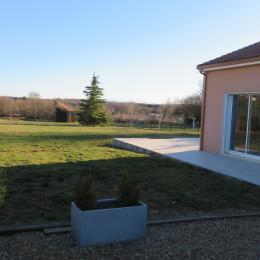Le jardin clos avec Terrasse de 45m² - Location de vacances - Saint-Georges-de-Mons