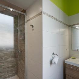 salle d'eau  - Location de vacances - Mont-Dore