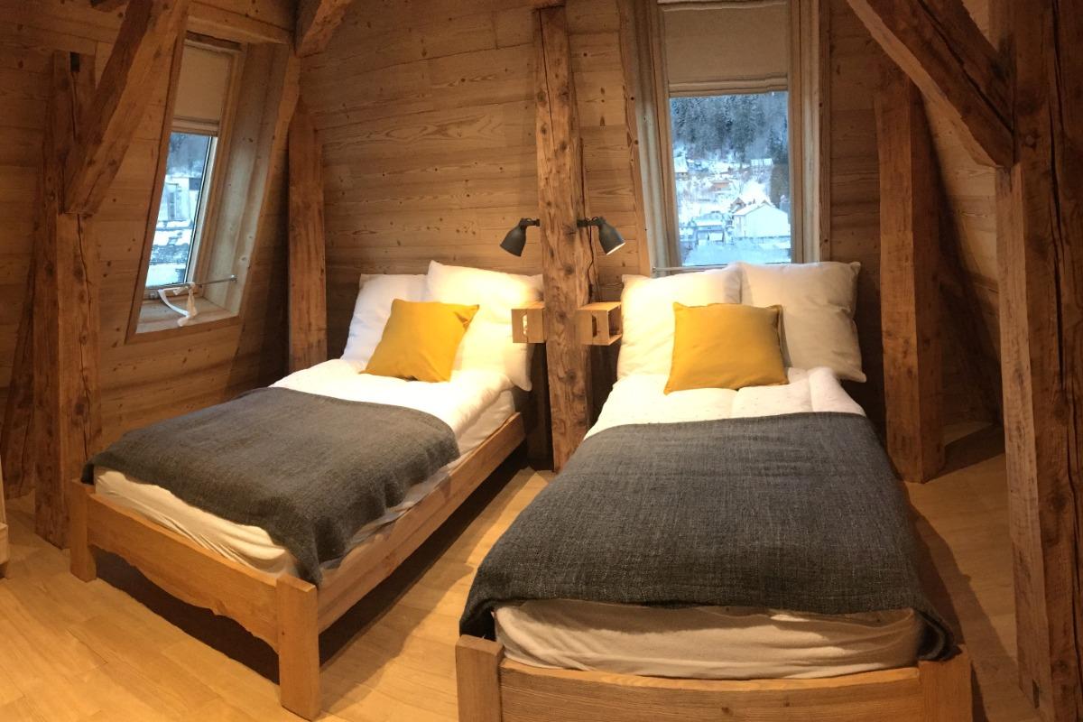 Chambre en mezzanine - Location de vacances - Mont-Dore