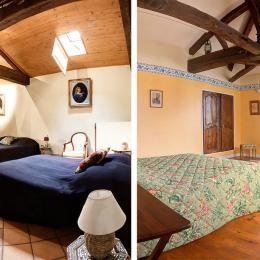 2 chambres côte à côte - Chambre d'hôtes - Sayat