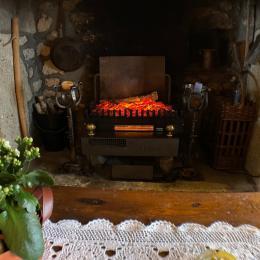 Coin cuisine et repas  - Location de vacances - Saint-Nectaire