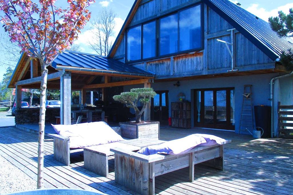 Terrasse et exterieur - Location de vacances - Saint-Victor-la-Rivière