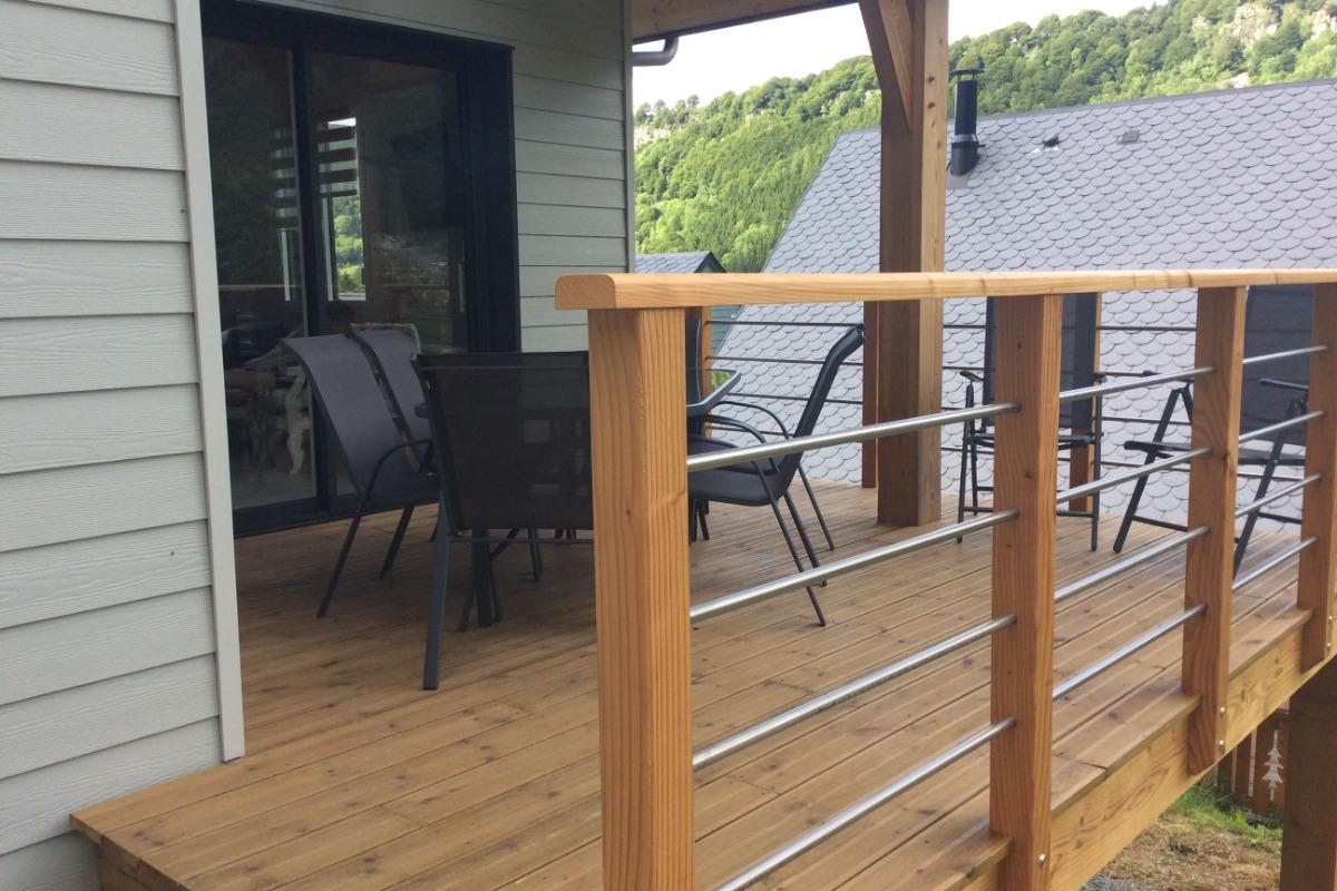Terrasse - Location de vacances - Mont-Dore