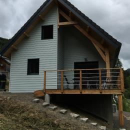 Vue côté cascade et village - Location de vacances - Mont-Dore