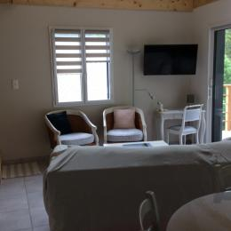 salon - Location de vacances - Mont-Dore