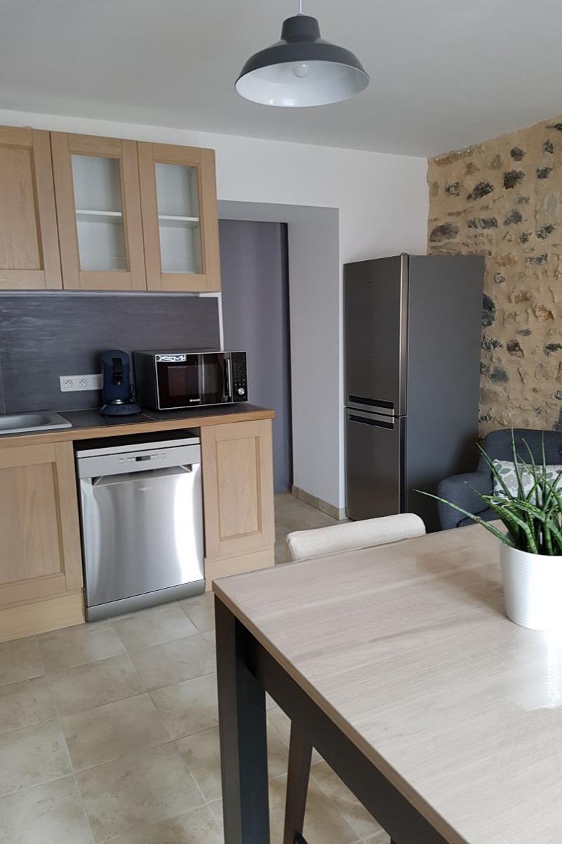 La cuisine - Location de vacances - Saint-Gervazy