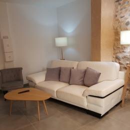 salon - Location de vacances - Saint-Gervazy