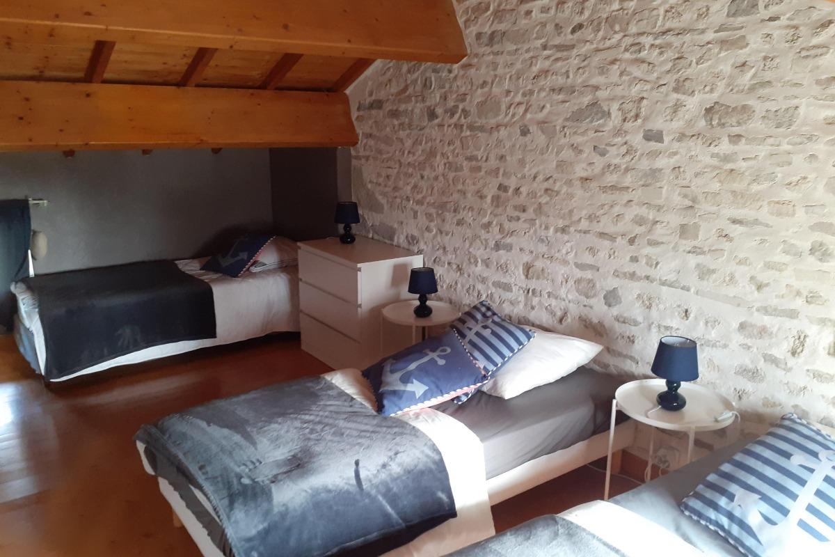 chambre  - Location de vacances - Thuret