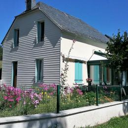 Maison en été - Location de vacances - La Tour-d'Auvergne