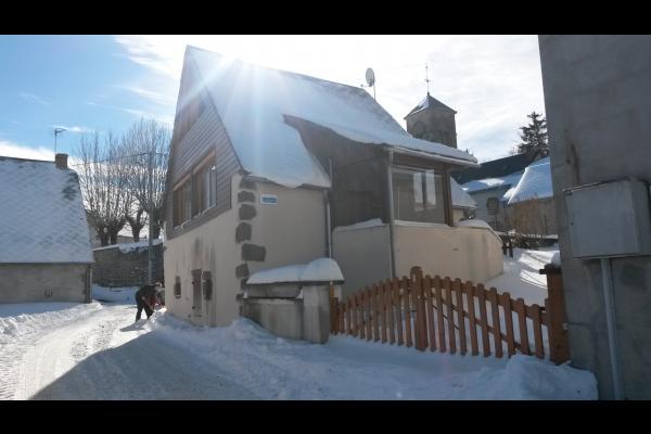 Le gite l'hiver - Location de vacances - Saulzet-le-Froid