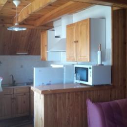 cuisine - Location de vacances - Saulzet-le-Froid