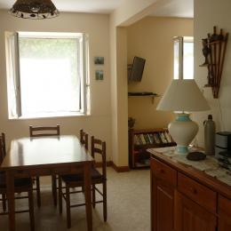 salle à manger - Location de vacances - Saint-Ours
