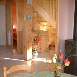 Chalet situé en bordure du Parc des Volcans et de la vallée de la Sioule - Location de vacances - Chapdes-Beaufort