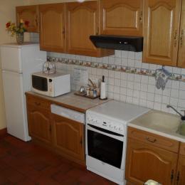 La cuisine / salle à manger - Location de vacances - Sermentizon