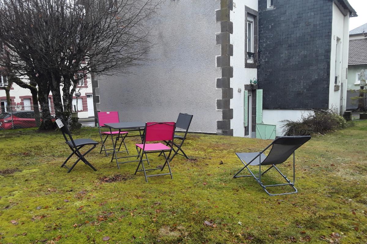 jardin - Location de vacances - Mont-Dore