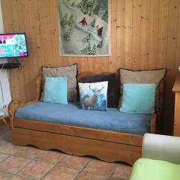 coin salon - Location de vacances - Mont-Dore