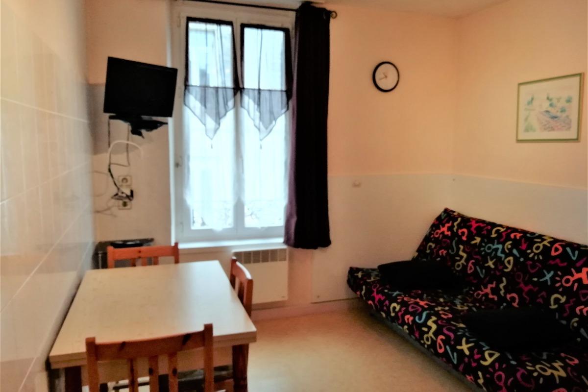 La chambre avec 2 couchages - Location de vacances - La Bourboule