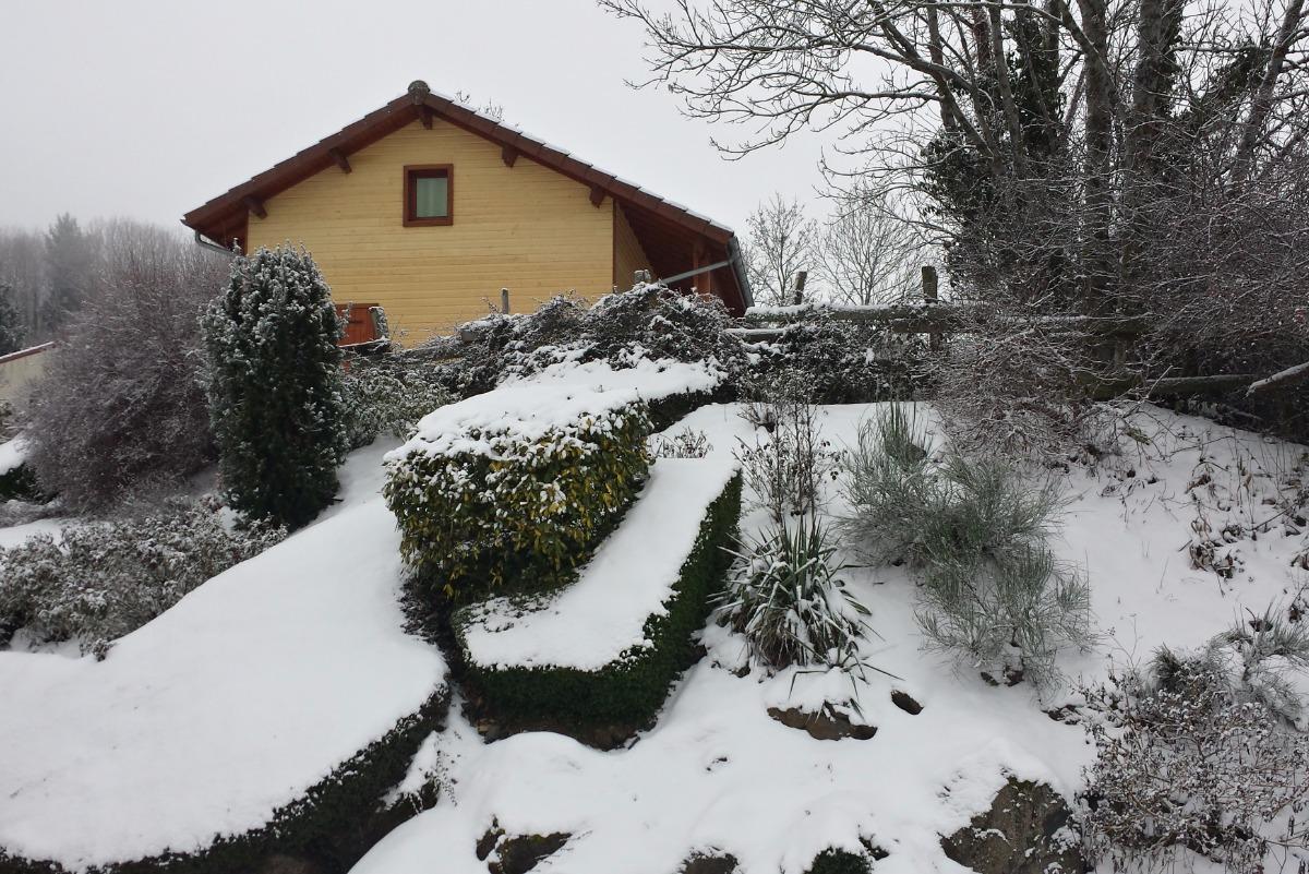 Sous la neige  Année 2017 - Location de vacances - Saint-Floret