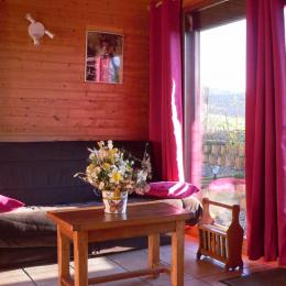 Salon Mésange - Location de vacances - Saint-Floret