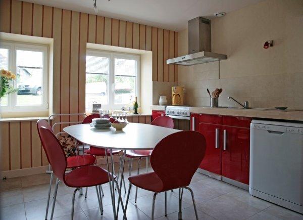 cuisine indépendante - Location de vacances - Charbonnières-les-Vieilles