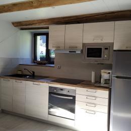 Coin cuisine - Location de vacances - Chambon-sur-Lac