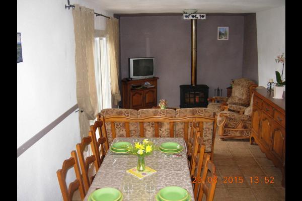 Le salon  - Location de vacances - Saint-Jacques-d'Ambur