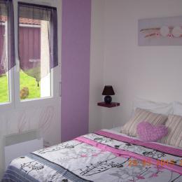 La chambre des parents - Location de vacances - Saint-Jacques-d'Ambur