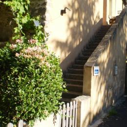 Devant le gîte - Location de vacances - Tourzel-Ronzières