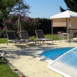 plage piscine - Location de vacances - Courpière