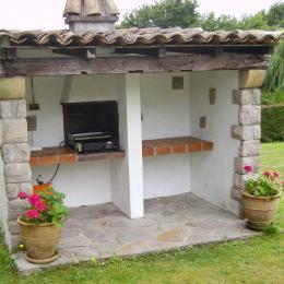 Barbecue Extérieur - Location de vacances - Urrugne
