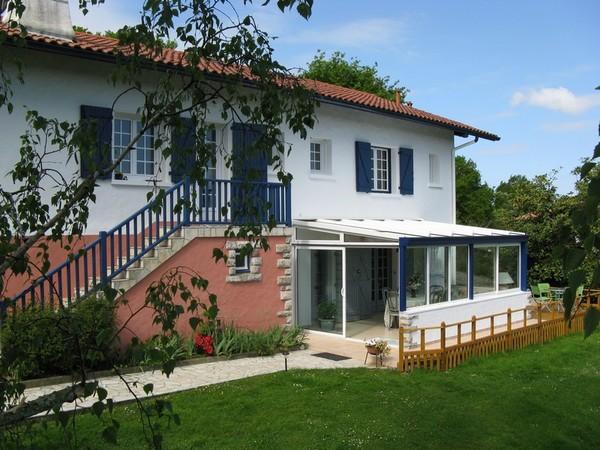 vue générale de l'appartement situé au Pays Basque - Location de vacances - Lahonce