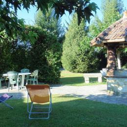 Maison Pelot_Urt_jardin - Location de vacances - Urt