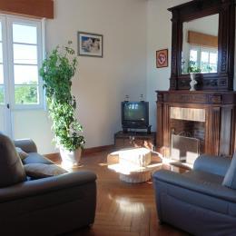 Maison Pelot_Urt_salon - Location de vacances - Urt