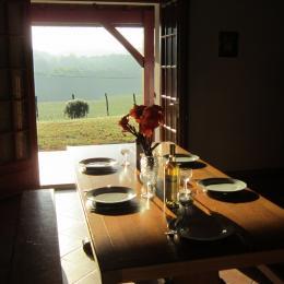 Salle a manger - Location de vacances - Hasparren