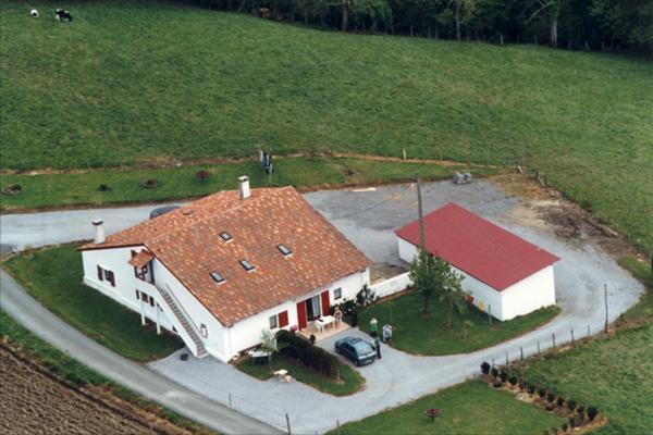 vue aérienne d'ensemble - Location de vacances - Saint-Pée-sur-Nivelle