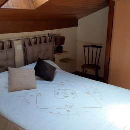 chambre lit 140 - Location de vacances - Saint-Pée-sur-Nivelle