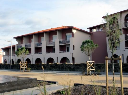 Appartement anglet - VUE DE LA TERRASSE VERS BIARRITZ - Location de vacances - Anglet