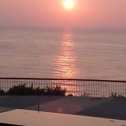 COUCHER DE SOLEIL EN HIVER VUE DE LA TERRASSE - Location de vacances - Anglet