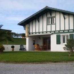 façade de la villa - Location de vacances - Saint-Pée-sur-Nivelle