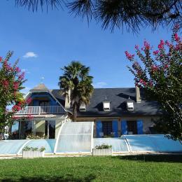 Maison typique béarnaise dans parc arboré de 7000m². - Chambre d'hôte - Saint-Faust