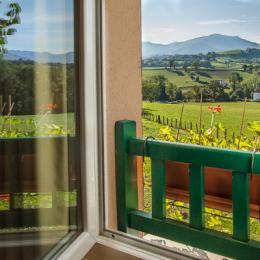 Vue sur les Pyrénées depuis ce gite au Pays Basque - Location de vacances - Saint-Jean-le-Vieux