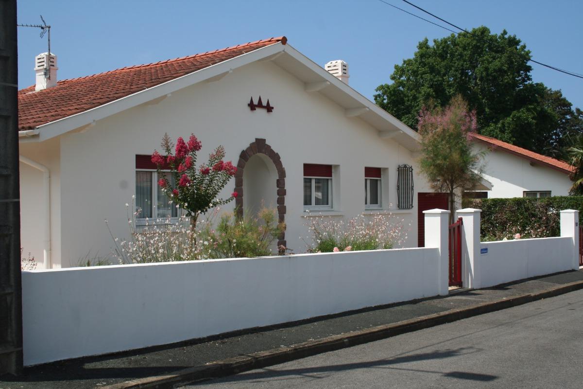 la façade   - Location de vacances - Anglet